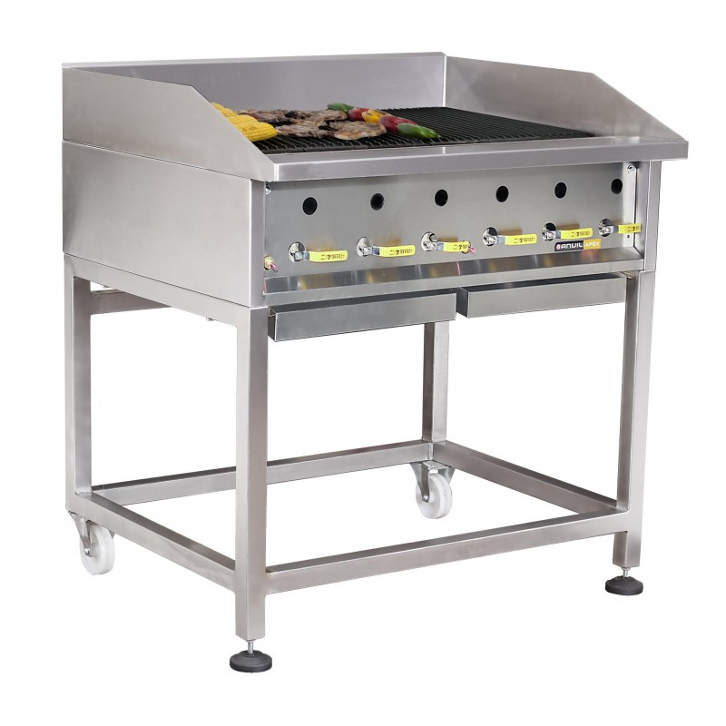 GAS GRILL HEAVY DUTY 900mm - CaterMaster