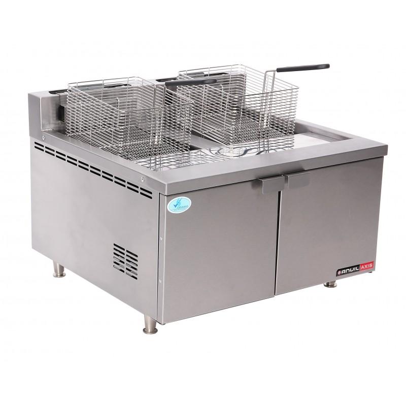 Gas Fryer Double Pan 2x10 Litre Catermaster