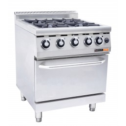 Gas Oven Amp Gas Stove 4 Burner Catermaster