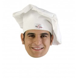 CHEF COTTON HAT WHITE