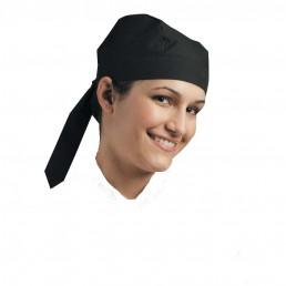 CHEF SKULL CAP BLACK