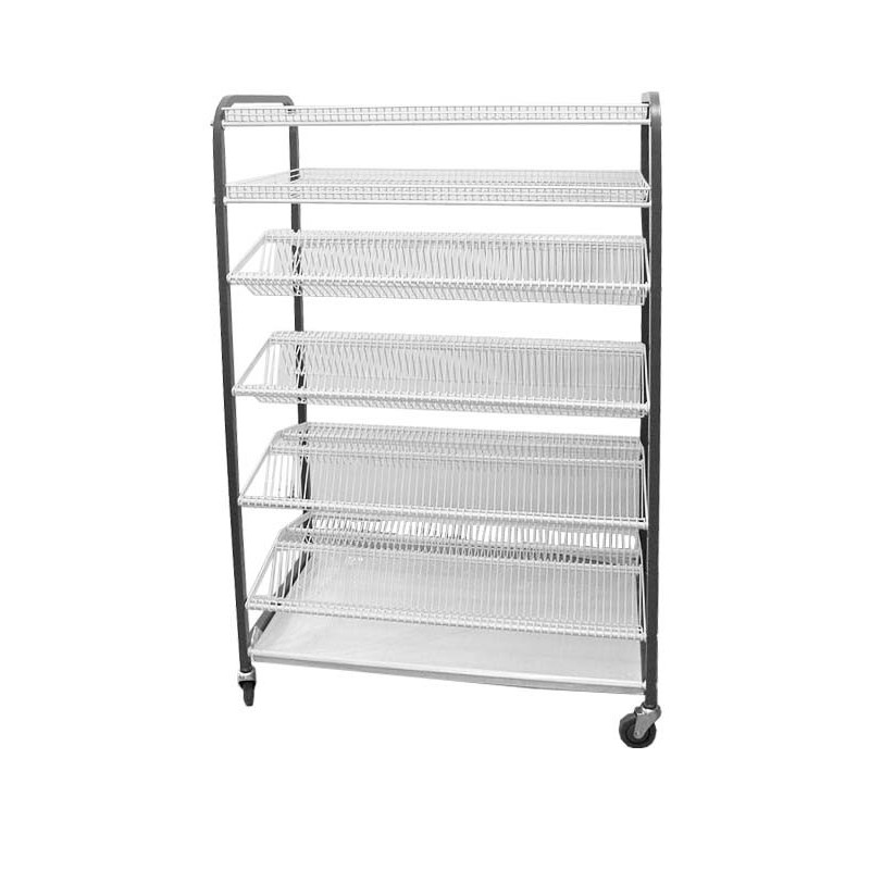 Crockery Rack Mobile 600 Pieces Catermaster