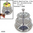 CAKE STAND S/STEEL - 3 TIER